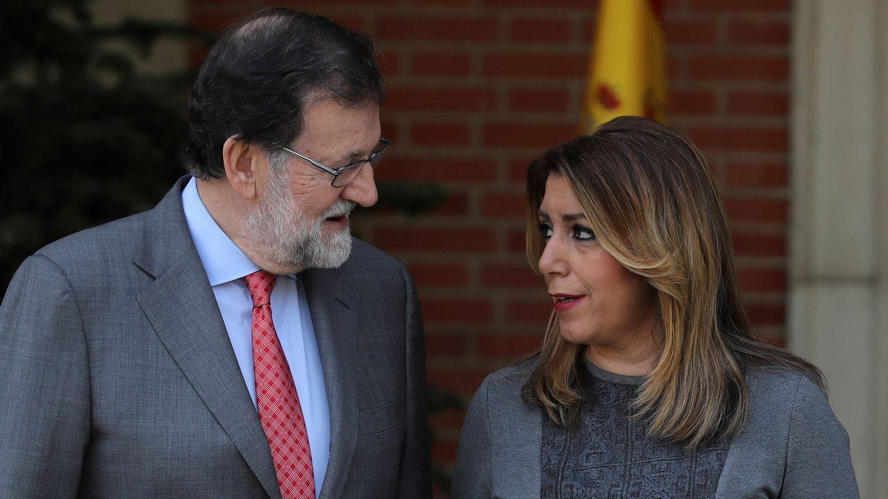 .Mariano Rajoy y Susana Diaz