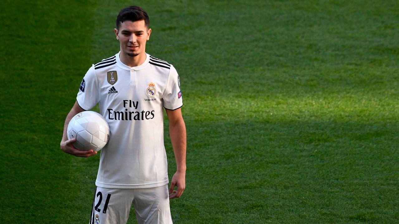 Brahím Díaz: 17,3 millones. El jugador, de 18 años, militaba en el Manchester City, en el que solo jugó 5 partidos