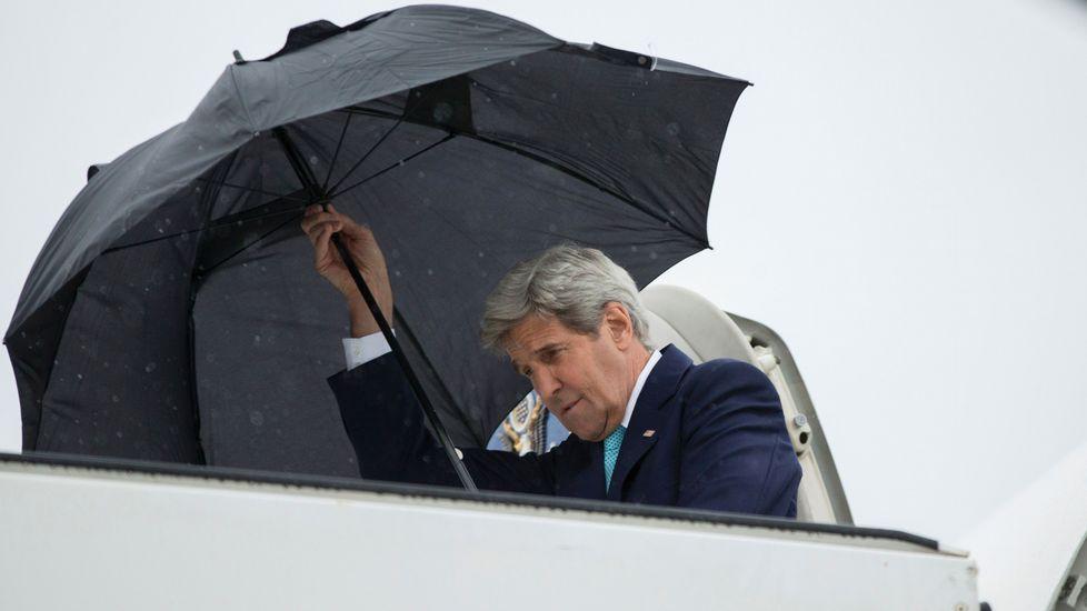John Kerry llega a Bruselas
