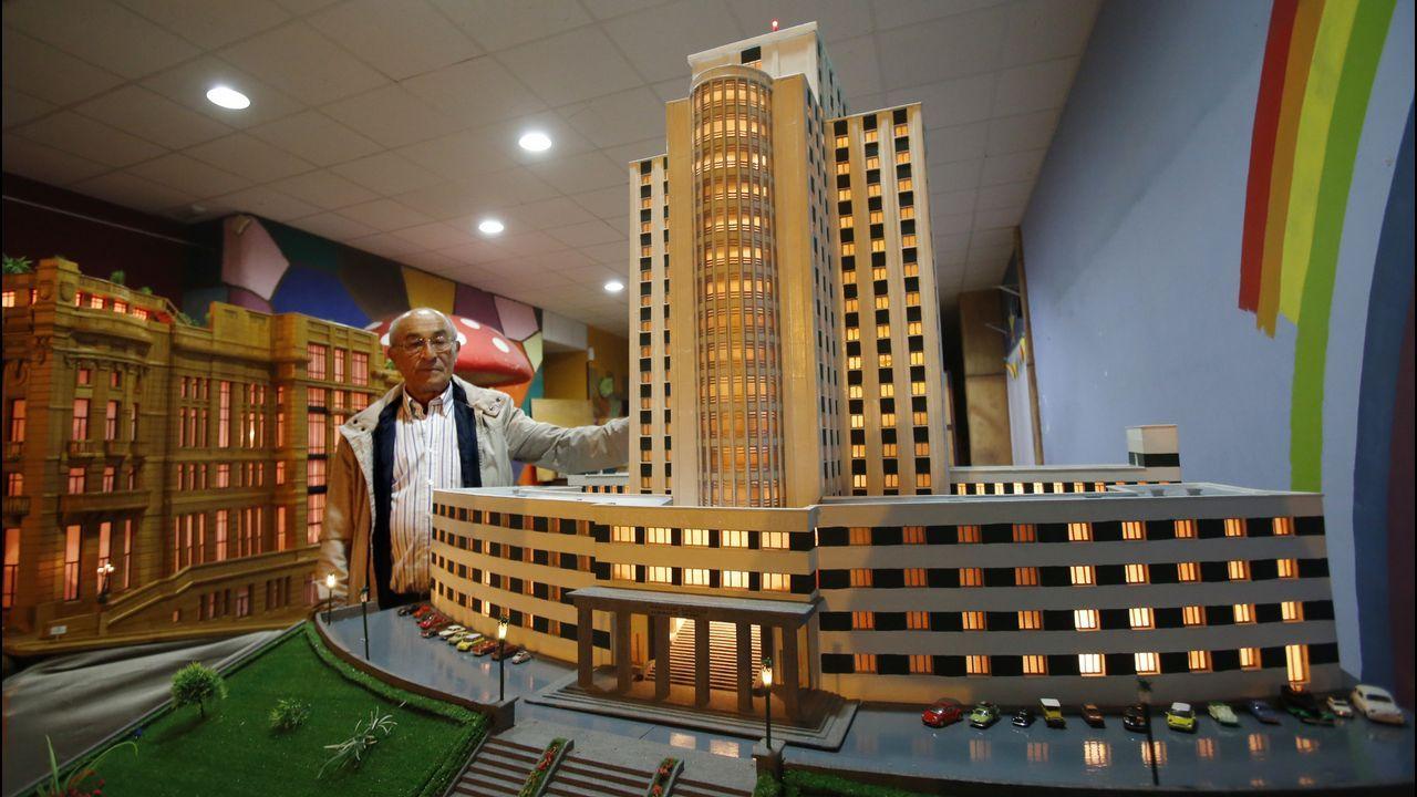 El Hotel NHde Vigo recupera la historia de sus luces