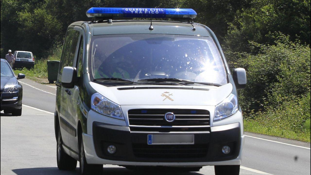 Imagen de archivo de una patrulla de la Guardia Civil