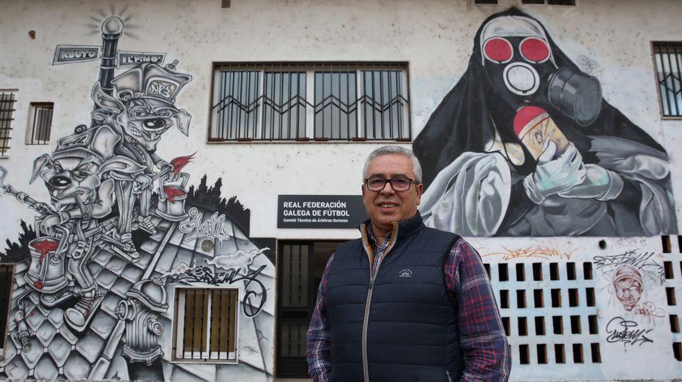 Galicia en alerta por la borrasca Helena.La obra de la residencia lleva 15 años parada