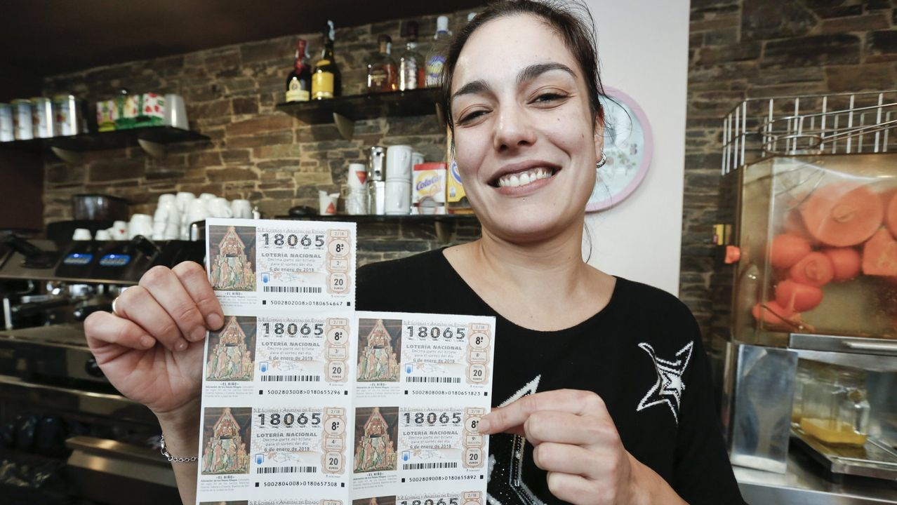 2018 | Precio de un décimo de la Lotería de Navidad: 20 euros