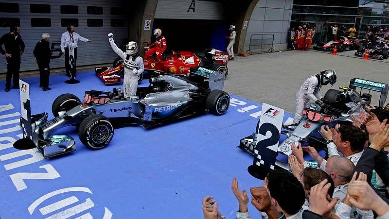 La carrera de Shanghái, en imágenes.Maldonado, durante el GP de España