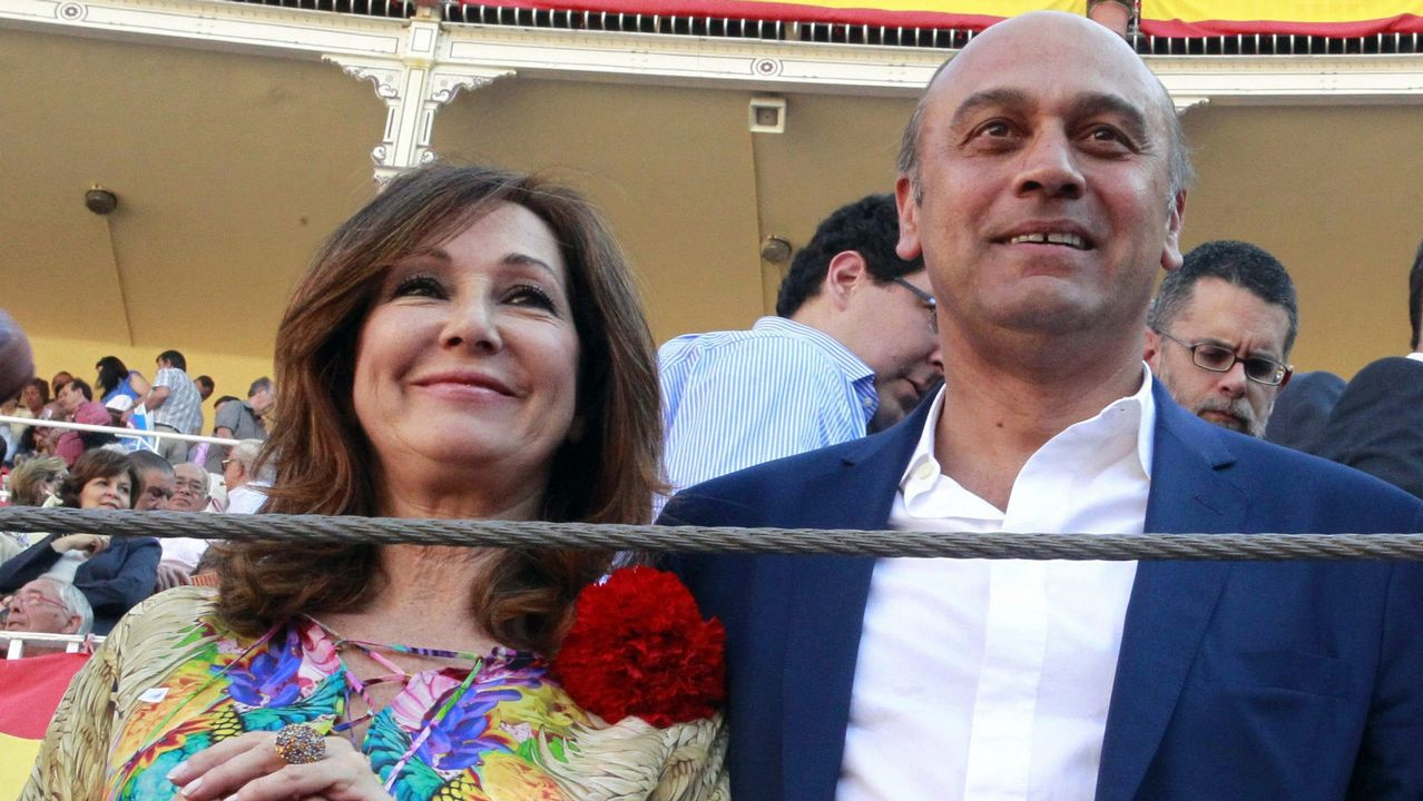 .Ana Rosa Quintana y Juan Muñoz, en una imagen de archivo