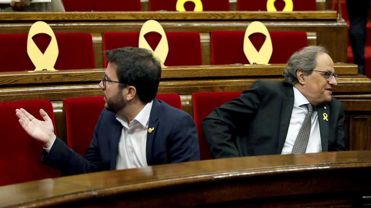 El Parlament rechaza la autodeterminación de Cataluña.Sesión de control al Gobierno en el Senado