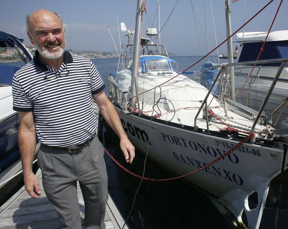 La intención del navegante es emprender su próximo viaje en otoño.