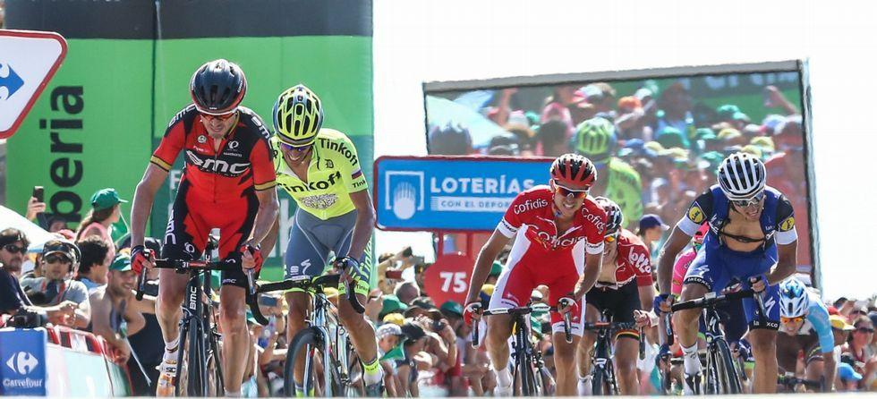Equipos de la Vuelta a España.O Ézaro.