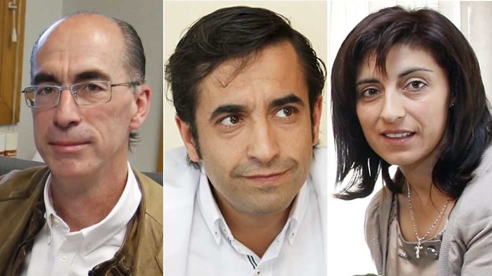 Jesús Vázquez Almuiña, José Manuel Rey Varela y Ángeles Vázquez Mejuto, nuevos conselleiros