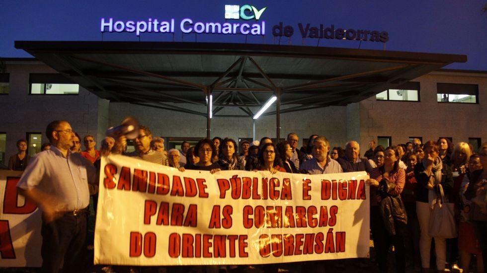 Imagen de una protesta por los recortes en 2015