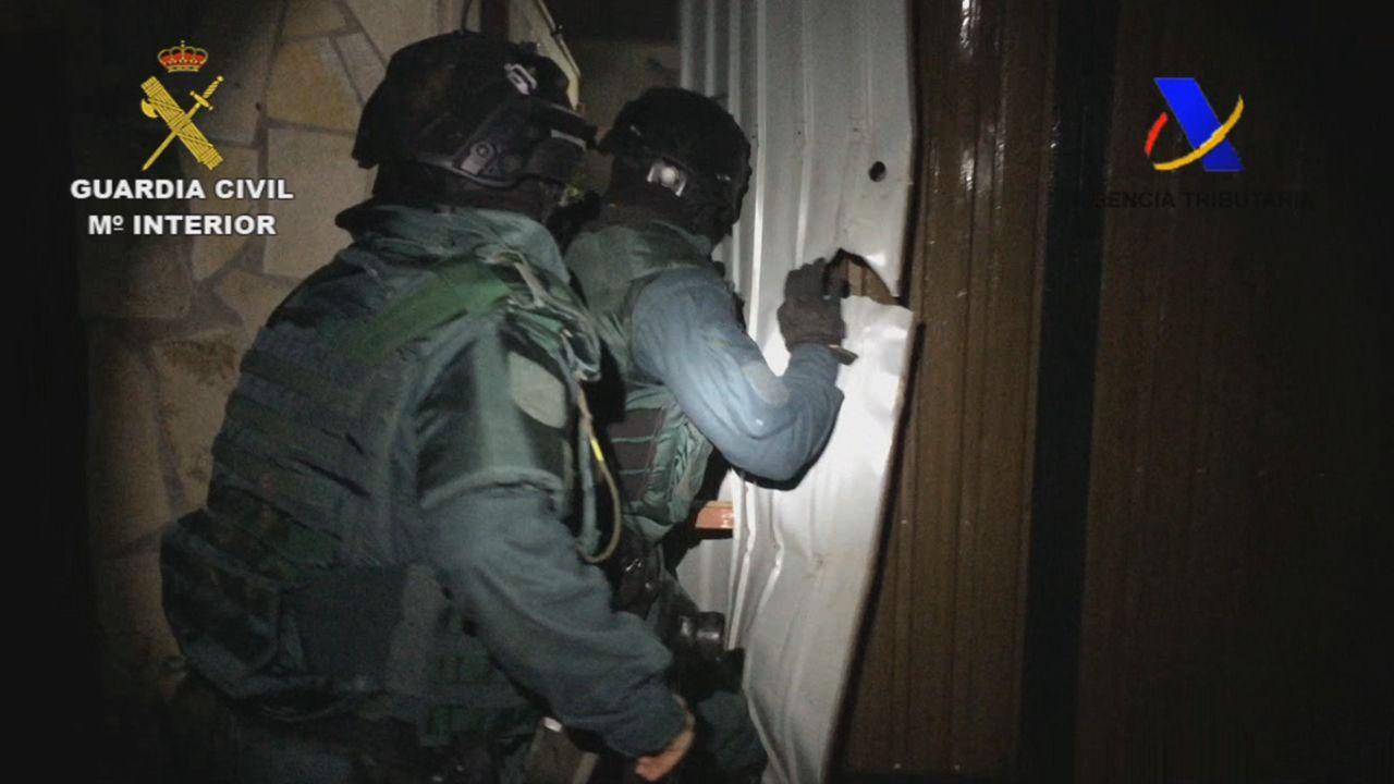 Detenida una banda de narcos que robaban droga a otros traficantes.Charles Michel