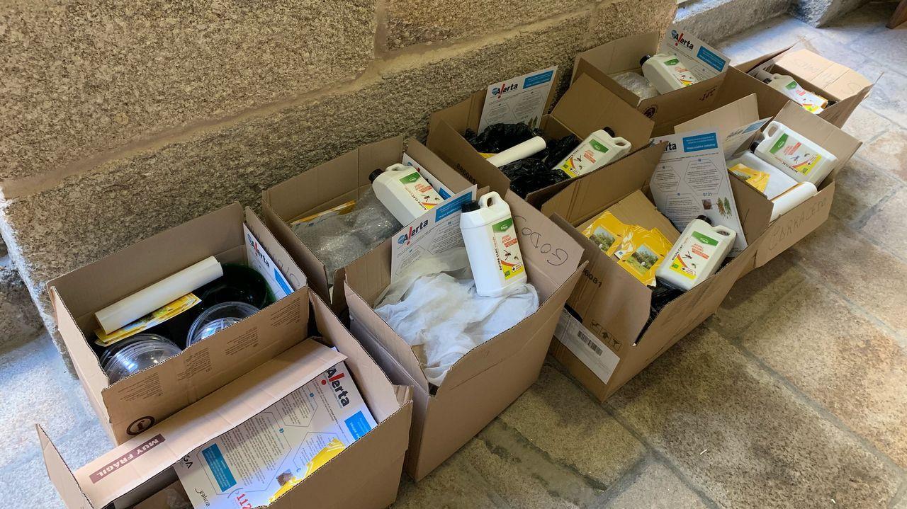 Este es el material recuperado por la Guardia Civil en la operación Espá