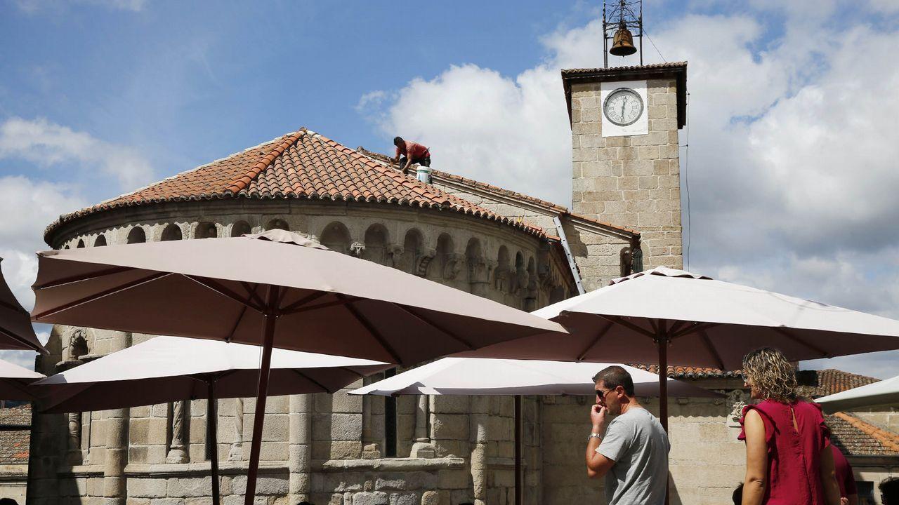 Jornada espectacular de magostos en Montealegre y el parque Barbaña
