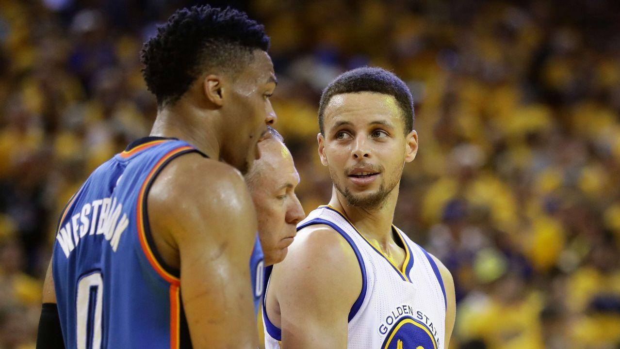 La crisis entre Durant y Green explota en pleno partido.Quintetos del All Star