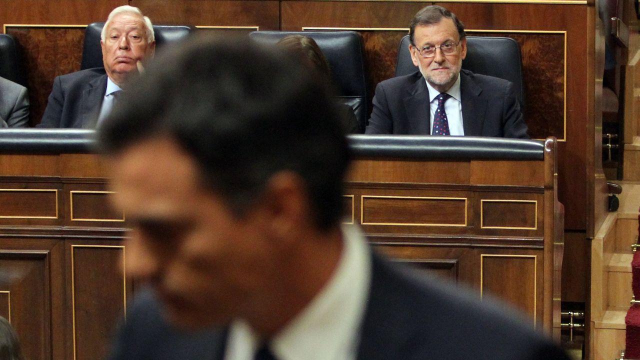 Primeras palabras de los nuevos ministros: estas son sus intenciones.Rajoy, durante el debate sobre el estado de la nación celebrado en el 2015