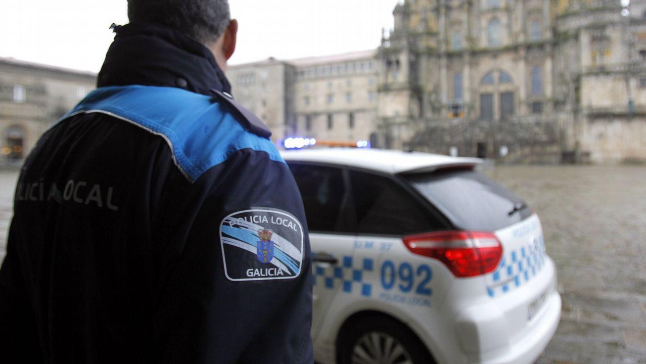 .Imagen de archivo de la policía local de Santiago
