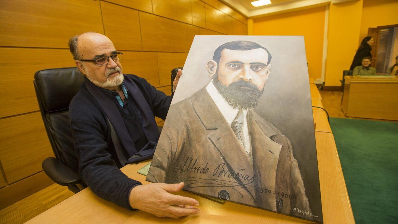 Carballo pon en valor a figura de Alfredo Brañas.Ángel Fernández será nomeado Irmán Maior da Irmandade