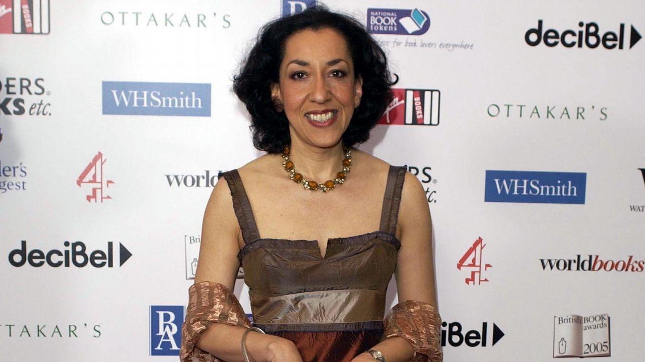 La escritora Andrea Levy, en el 2005, al año siguiente de publicar «Pequeña isla»