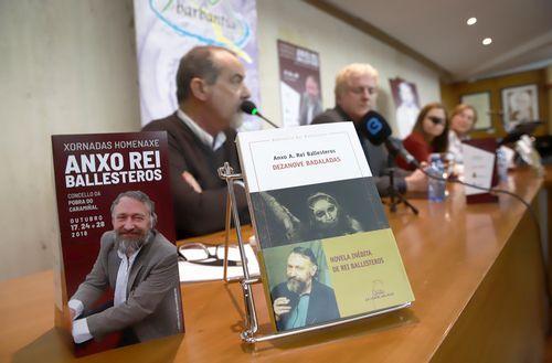 Presentación da novela inédita de Anxo Rei Ballesteros