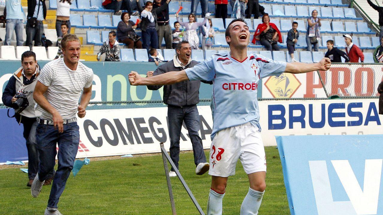 Las imágenes de la vuelta de los dieciseisavos de la Copa ante la Real.Celta-Alavés (2-1) el 6 de junio del 2009. Doblete de Aspas