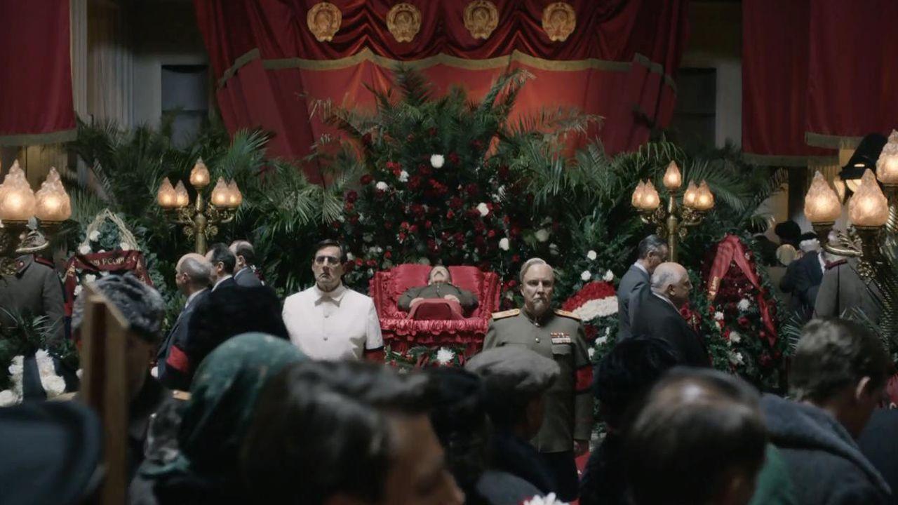 Fotograma de la película «La muerte de Stalin»