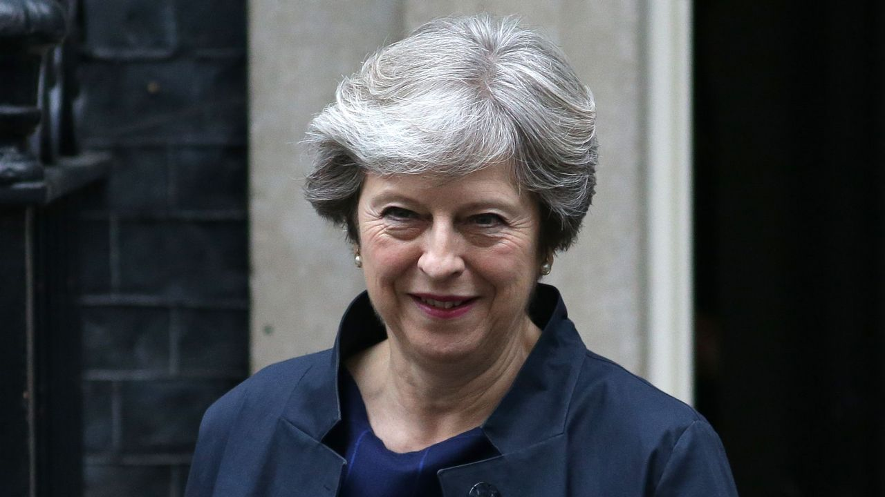 Theresa May certifica su apoyo a Rajoy en Cataluña