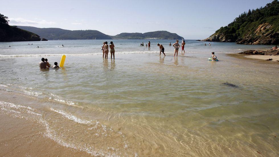 O Vicedo. Playa de Xilloi