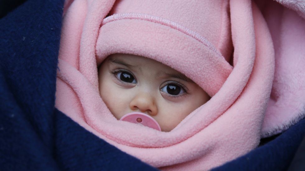 Las vidas de los niños refugiados en Serbia, en peligro por las bajas temperaturas