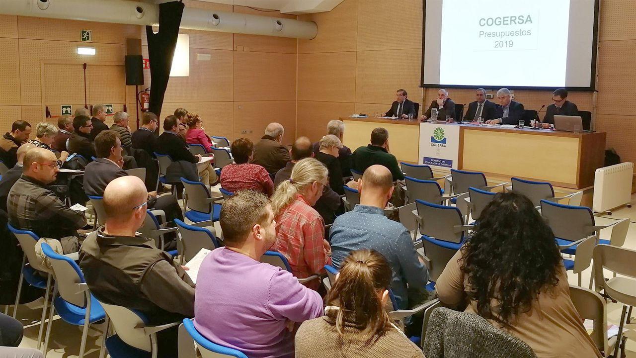 Junta de gobierno de Cogersa en la aprobación de los presupuestos de 2019