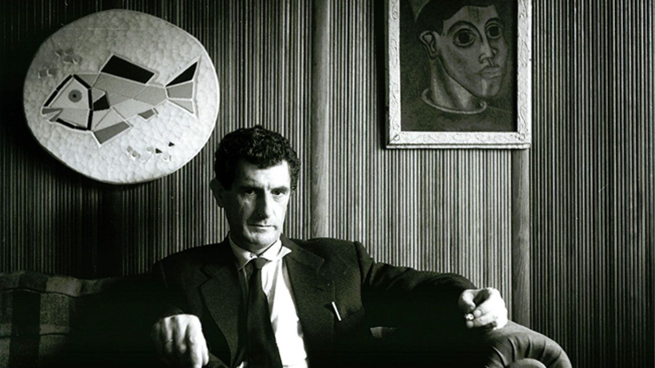 Aurelio Suárez, en una fotogafía de 1959 de Joaquín Rubio Camín