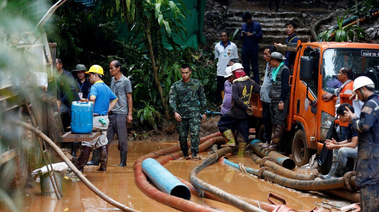 Hallados los 12 niños perdidos en una cueva en Tailandia