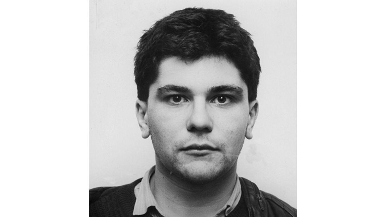 La víctima, en una foto de 1989