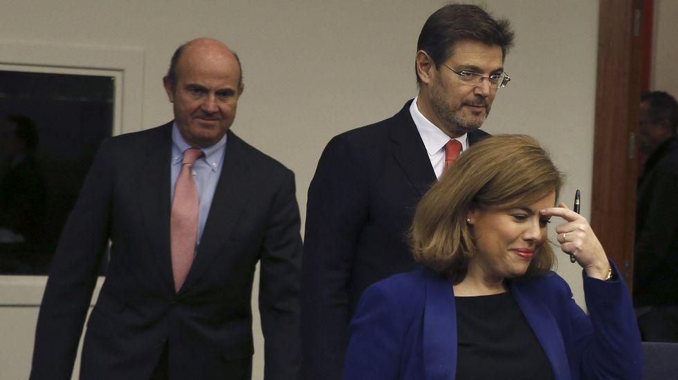 Primeras palabras de los nuevos ministros: estas son sus intenciones.Jesús Pérez, María Isabel Míguez, José Rúas e Iván Puentes, cuatro de los ocho integrantes del grupo de investigación Necom.