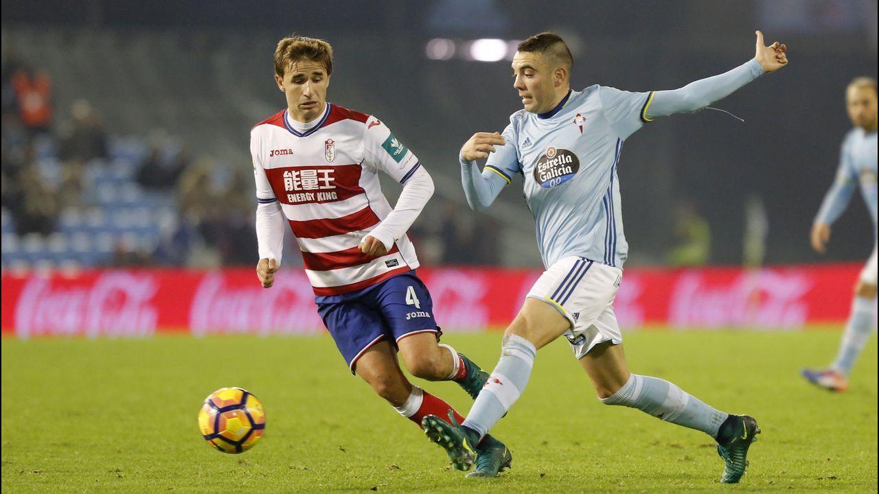 209 - Celta-Granada (3-1) de Primera el 27 de noviembre del 2016