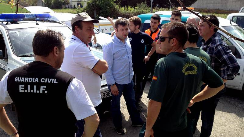 .El operativo de búsqueda se reune en Pardieiros (Trasmiras) por ser el último lugar donde fue vista la mujer