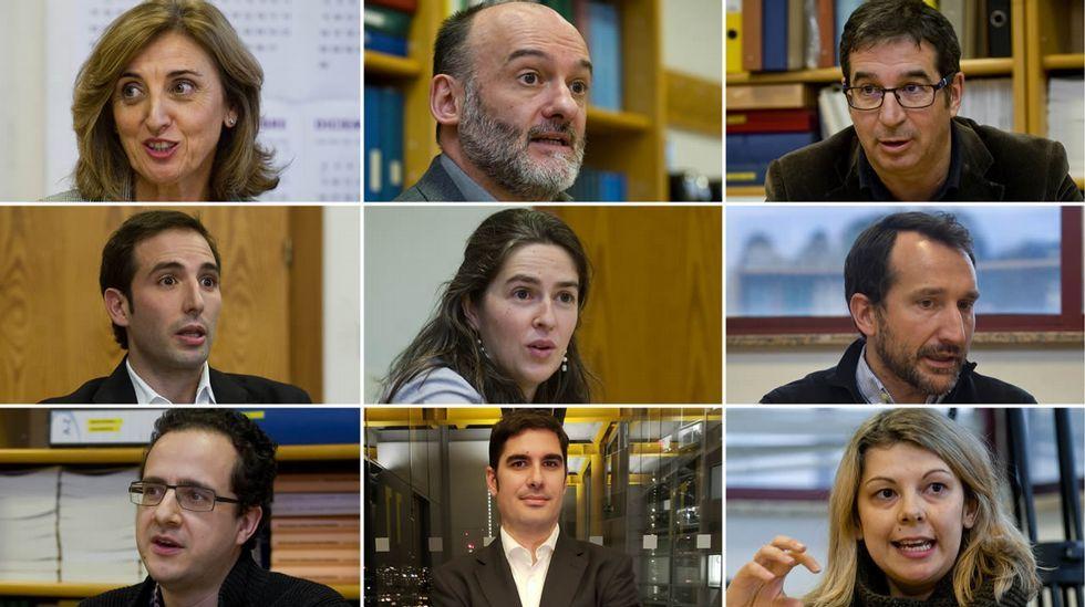 Galicia, a las puertas de la era de la robotización.Un soldador en una industria asturiana