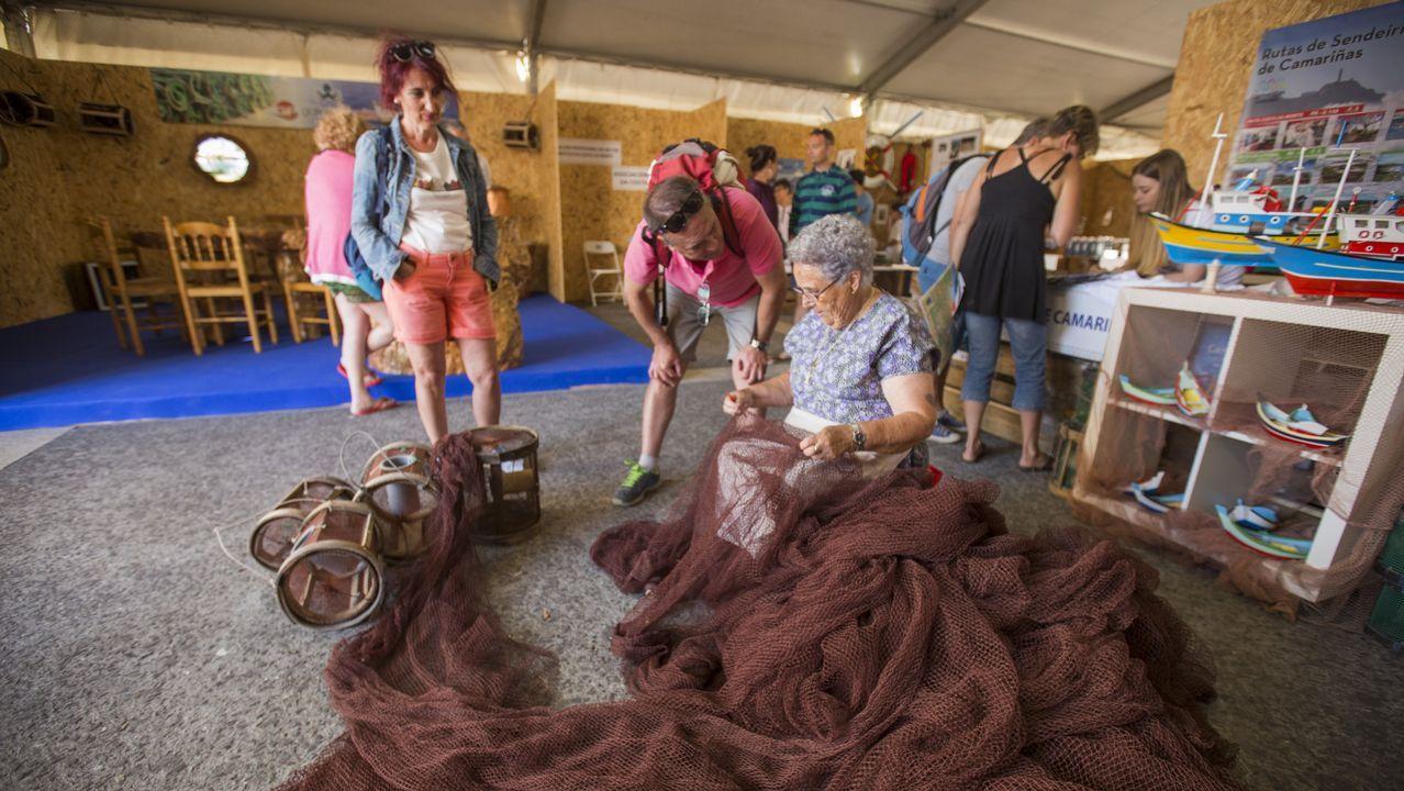 «Camariñas, o mar todo»: primeras imágenes de la feira mariñeira.