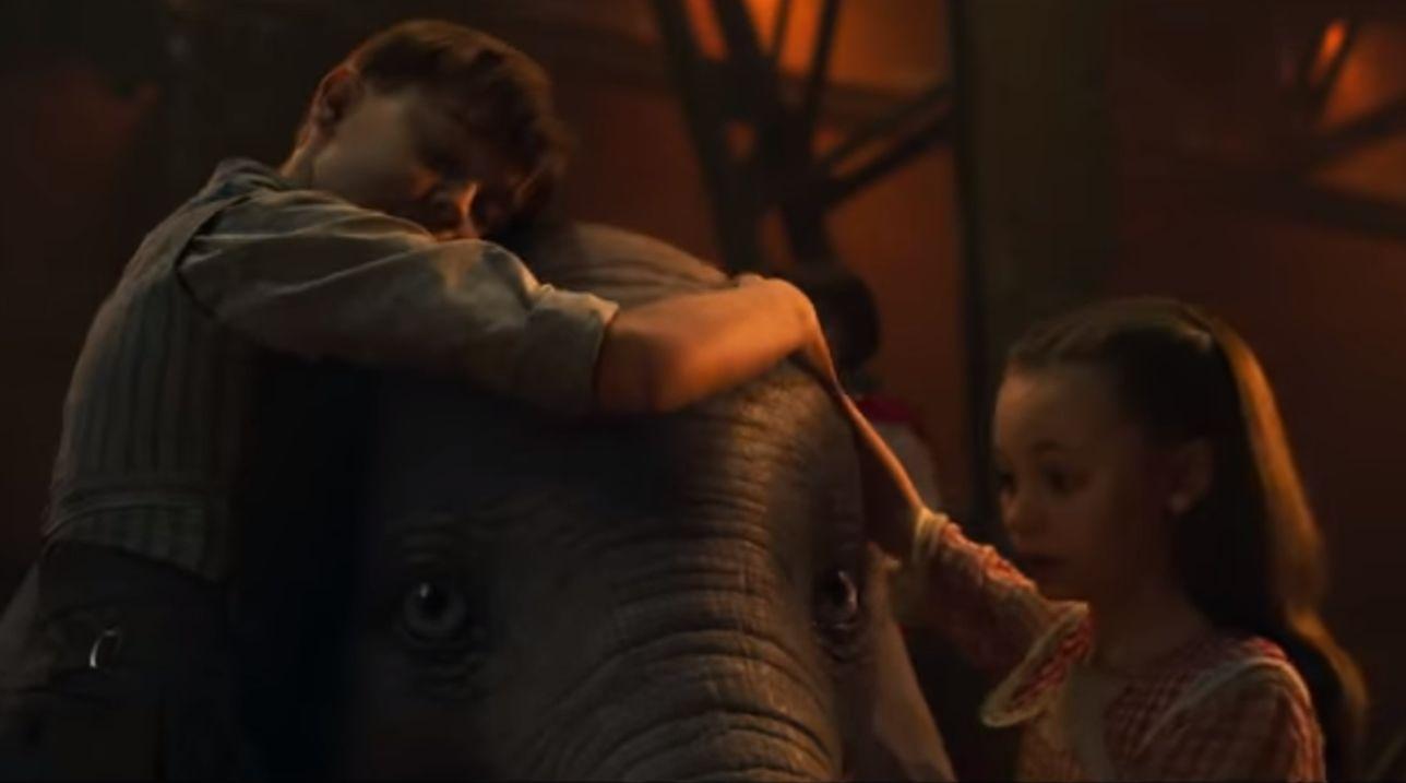 Disney lanza el primer tráiler del remake de Dumbo