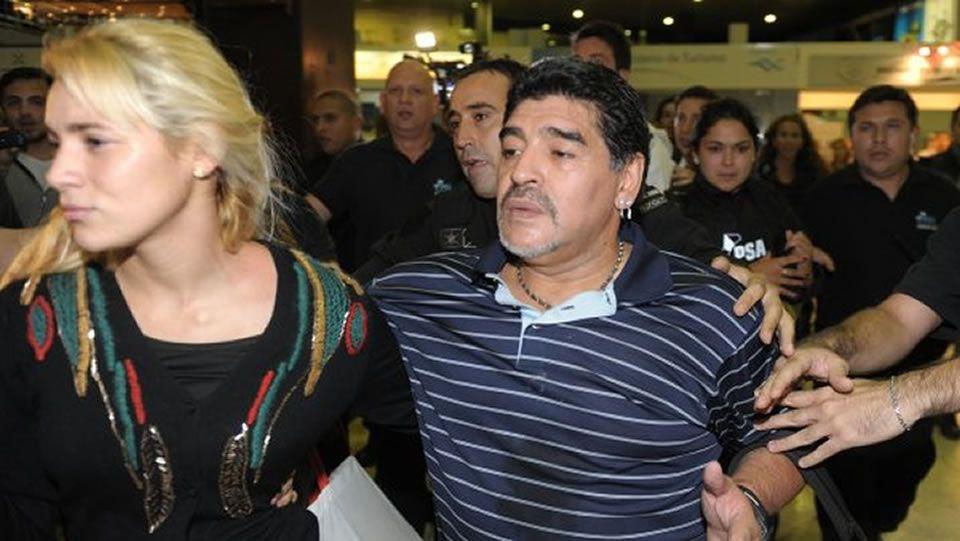 Grondona, con Cristina Fernández y Maradona