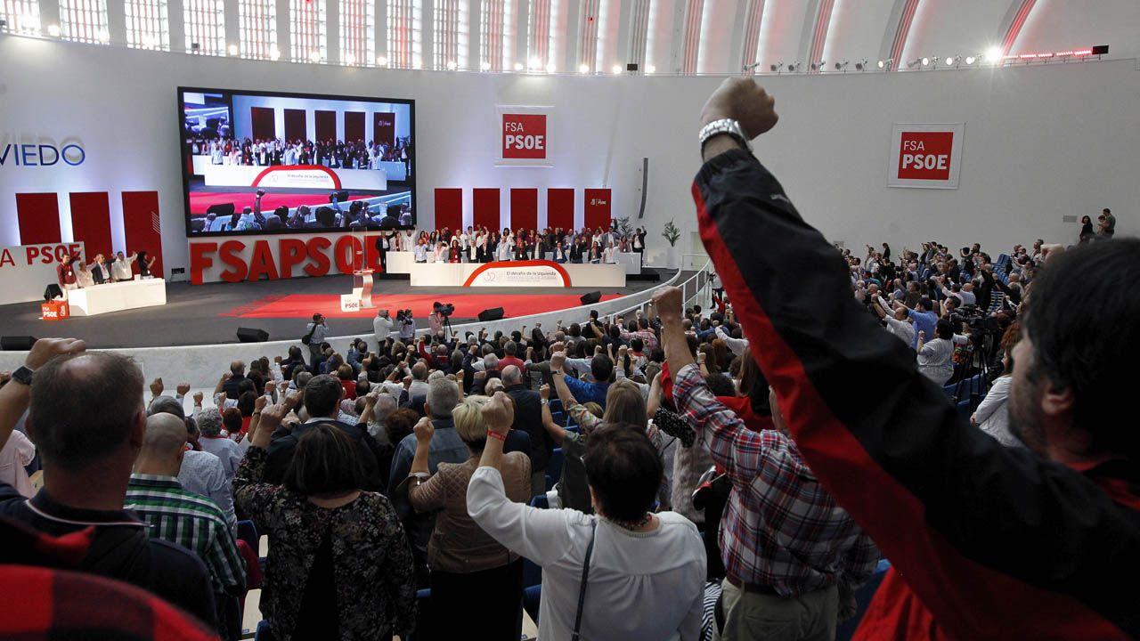 La vida ensin oficialidá.Clausura del 32 Congreso de la Federación Socialista Asturiana