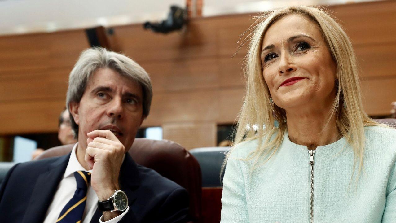 .Ángel Garrido y Cristina Cifuentes
