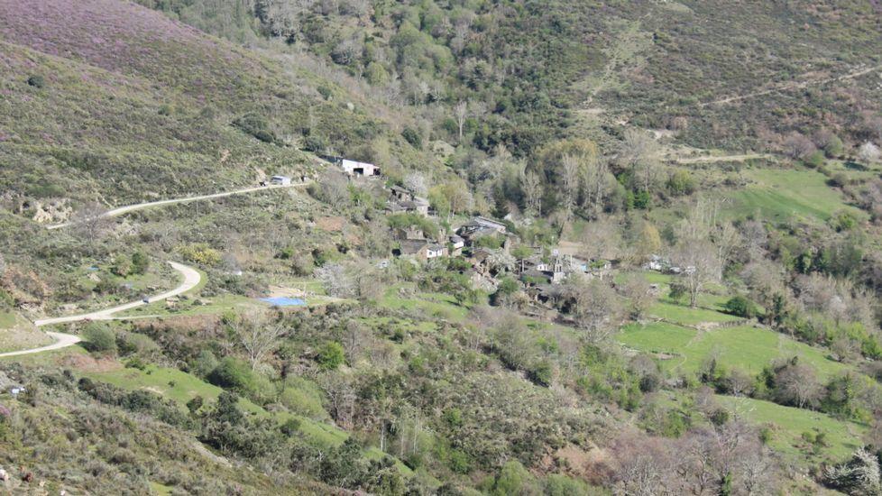 Larouco quiere beneficiarse del agua de Santoalla