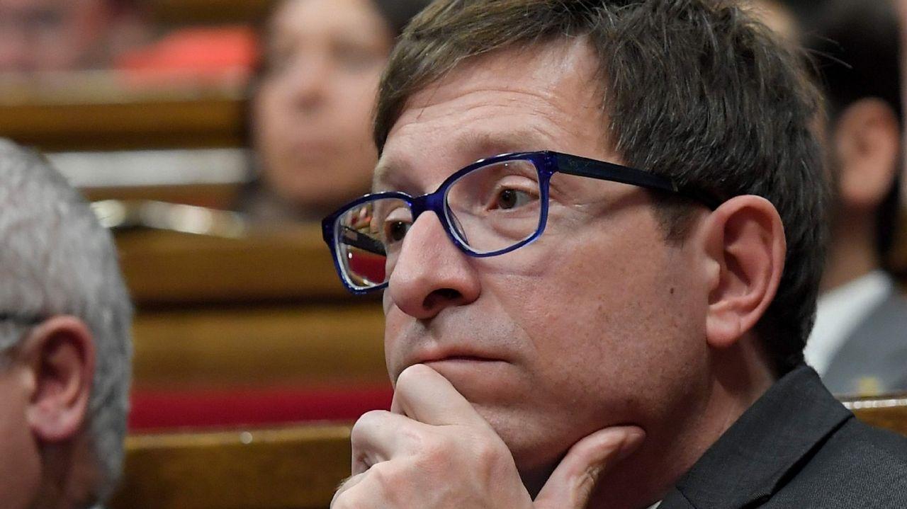 .Carles Mundó, exconsejero de Justicia, de ERC, irá a Estremera