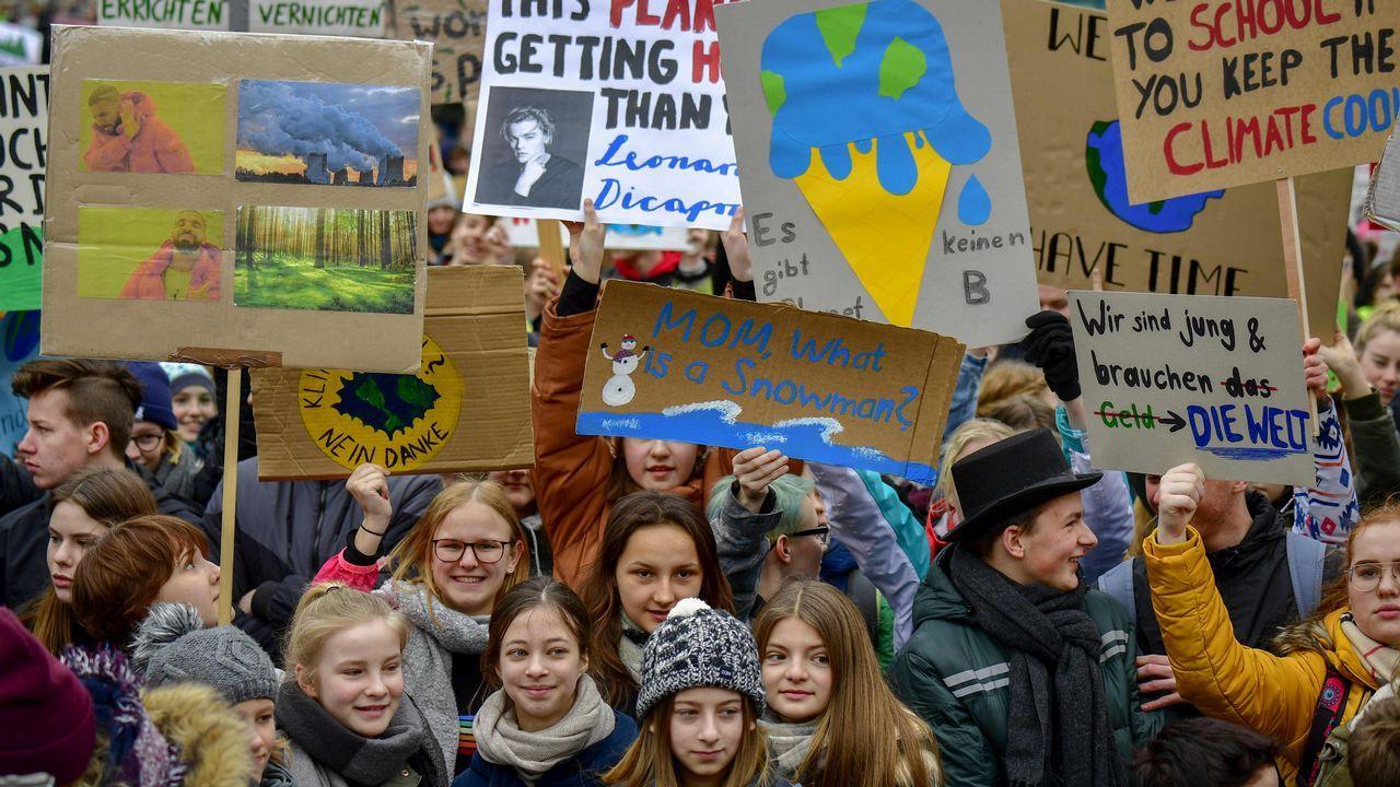 Protestas en Berlín