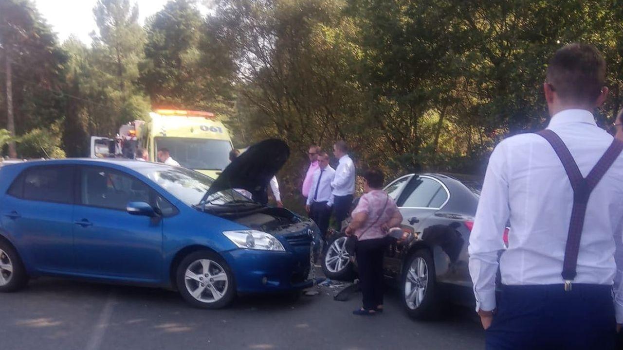 accidente mortal en Abegondo