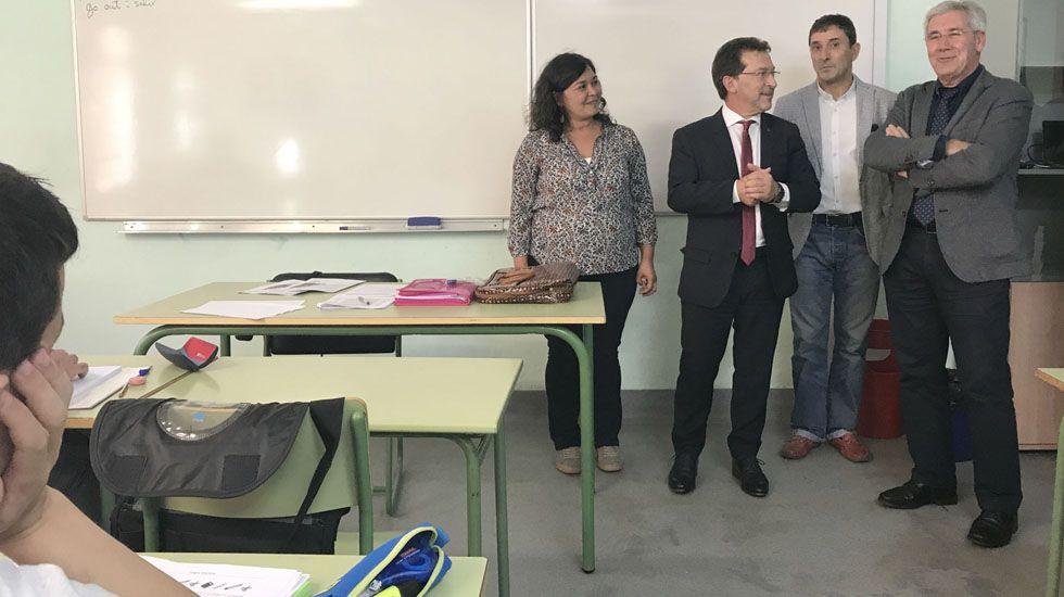 El consejero Genaro Alonso inauguró el curso de los centros de educación de personas adultas (Cepas) en San Martín del Rey Aurelio.El consejero Genaro Alonso inauguró el curso de los centros de educación de personas adultas (Cepas) en San Martín del Rey Aurelio