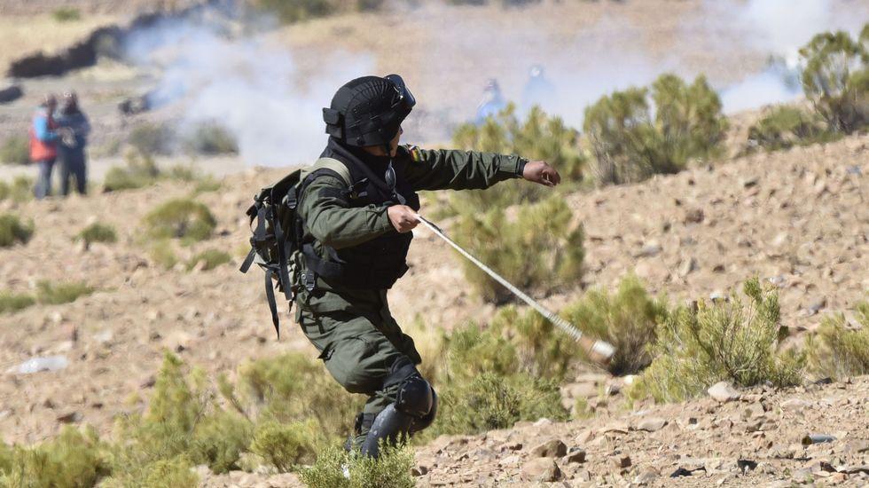Enfrentamientos en Panduro.Funeral por el viceministro boliviano Rodolfo Illanes