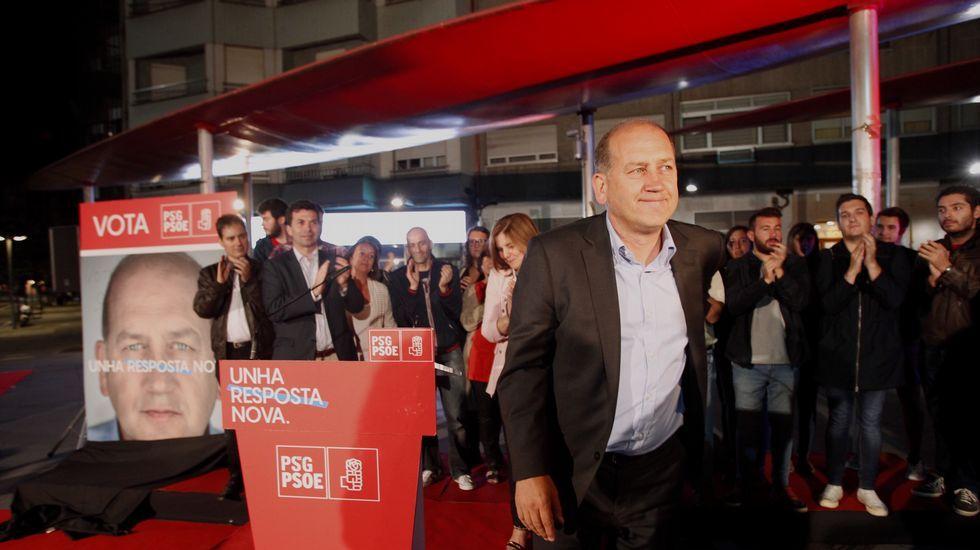 Leiceaga, candidato del PSdeG en 2016