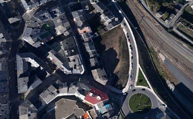Centro histórico de Melide.Centro histórico de Melide