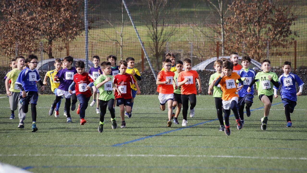 ¡Búscate en el campeonato provincial escolar de campo a través!